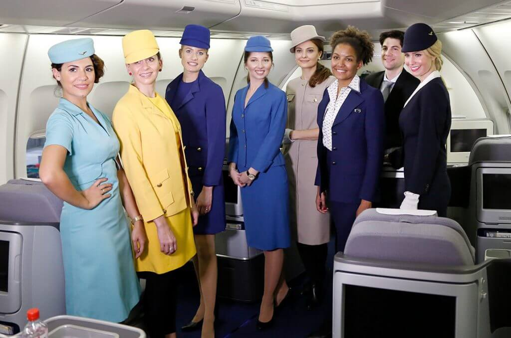 Most Beautiful Flight Attendants - Lufthansa airlines - cehap offers / deals here