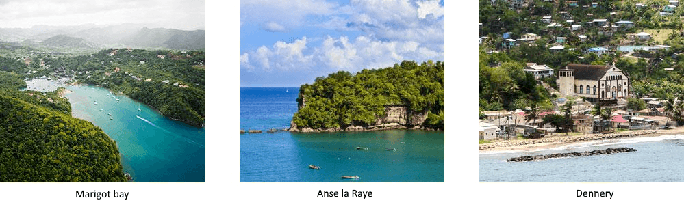 MUST SEE PLACES IN CASTRIES